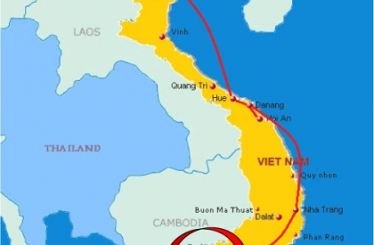CTV9: Vietnam Overland tour 14 days