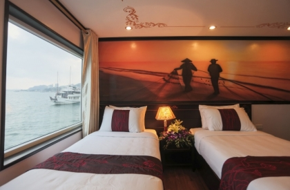 Huong Hai Sealife Cruise Twin suite