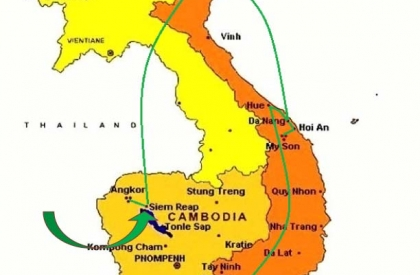 ID12: Amazing Vietnam Cambodia tours 14 days