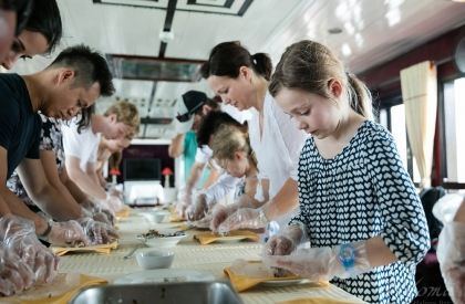 Renea Cruises - cooking class